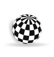 ball with squares vector image vector image
