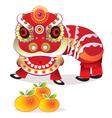 Cultural dragon vector image