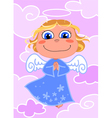 cute angel vector image vector image