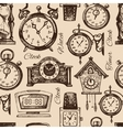 Hand drawn clocks and watches
