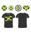Jamaican T-Shirt vector image