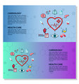 medical infographic elements data visualization vector image