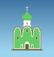 Old orthodox church vector image