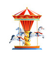 Realistic Carousel Isolated vector image