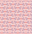 sweet graphic bow tie seamless pattern vector image vector image