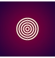 target icon vector image vector image