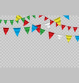 white paper banner for carnivalhappy birthday vector image