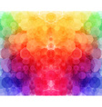 Bright hexagonal pattern for Your design vector image vector image
