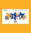 create perfect body banner web design vector image