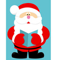 Cute cartoon Santa Claus vector image vector image