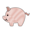 piggy safety money bank concept vector image vector image
