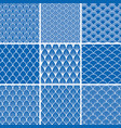 set of seamless backgrounds from fish scales vector image vector image