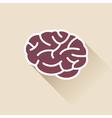 Simple Brain Icon vector image