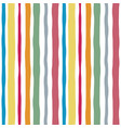 striped watercolor lines color seamless pattern vector image vector image