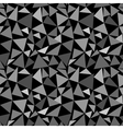 Triangle gray chaotic seamless pattern vector image vector image