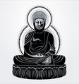 buddha amitabha vector image vector image