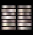 metal gold bronze foil texture gradients vector image vector image