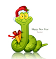 Snake Symbol of new 2013 year With vector image vector image
