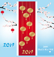 three chinese new year banners collections vector image vector image
