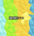 Colour retro pattern of geometric shapes vector image