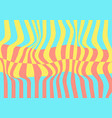 abstract colourful pastel waves minimal pattern vector image vector image