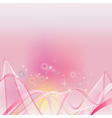 Abstract shine pink clip art vector image