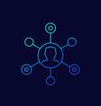 affiliate marketing icon outline