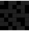 black squares background vector image