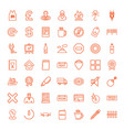 label icons vector image vector image