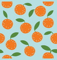 lovely colorful seamless pattern with cute vector image vector image