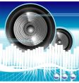 music equalizer background vector image vector image