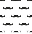 Seamless mustache pattern texture or background vector image vector image