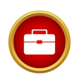 Suitcase Icon simple style vector image