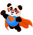 Super Panda vector image