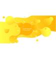 abstract form of fluid liquid design liquid vector image vector image