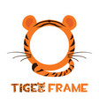 avatar frame tiger round animal template for game