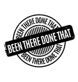 been there done that rubber stamp