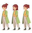 character cartoon vector image vector image