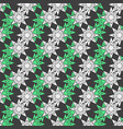 color geometric seamless pattern with eight vector image