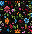 embroidery seamless pattern texture wallpaper vector image vector image