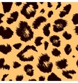 Leopard print pattern Repeating background vector image vector image