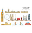 london skyline 1 vector image vector image