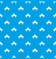 office table pattern seamless blue vector image vector image