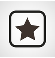 Star Icon Flat Simple vector image vector image