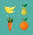 supermarket groceries healthy food vector image vector image