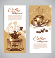 Vintage coffee backgrounds