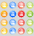 Wi fi router icon sign Set from fourteen vector image