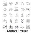 Agriculture farmer field farming tractor