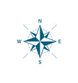 compass icon travel design compass in flat style vector image vector image