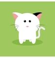 Cute Cartoon cat vector image vector image